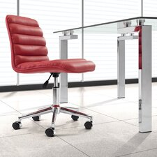 <strong>dCOR design</strong> Mid-Back Leather Admire Leatherette Office Chair