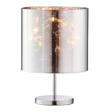 "Supernova 21.7"" H Table Lamp with Drum Shade"