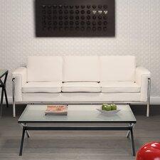 Singular Leatherette Sofa