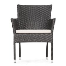 Valtos Outdoor Dining Arm Chair with Cushion