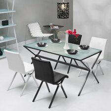 <strong>dCOR design</strong> Xert 5 Piece Dining Set