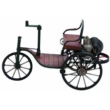 Vintage Tricycle Carriage Sculpture