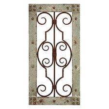 Antiqued Panel Wall Décor