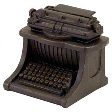 Polystone Typewriter Decor Figurine