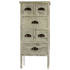 <strong>Woodland Imports</strong> 6 Drawer Fashionable and Well-Groomed Authentic Cabinet
