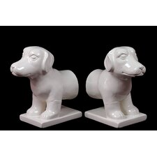 Unique Dog Bookend (Set of 2)