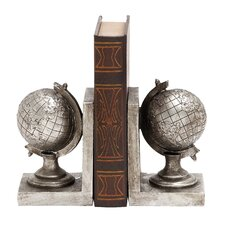 Exclusive Globe Classic Book Ends (Set of 2)