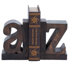 Wood Book End (Set of 2)
