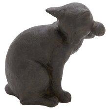 Polystone Cat Statue