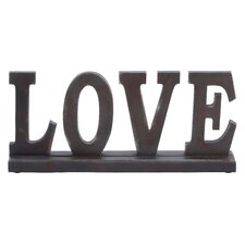 "Table Top ""Love"" Statue"