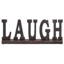 "Table Top ""Laugh"" Statue"