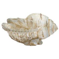 Polystone Shell Figurine