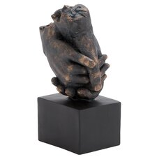 Completely Weather Resistant and Lightweight Hands Statue