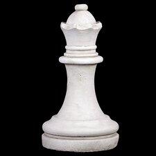 Enthralling Cement Queen Figurine