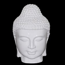 <strong>Woodland Imports</strong> Polished Buddha Head Bust