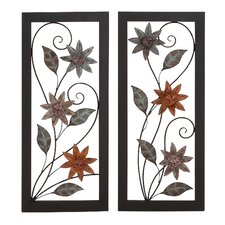 2 Piece Assorted Wall Décor Set