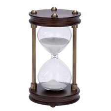 Wood Metal Hourglass