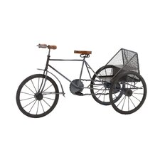 The Cute Metal Wood Tricycle