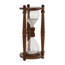 The Cool Wood Glass Sand Timer
