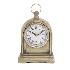 Creative Styled Aluminum Table Clock