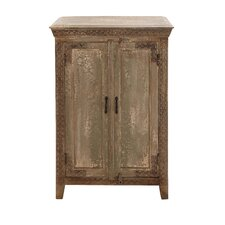 The Aged Wood Almirah Cabinet