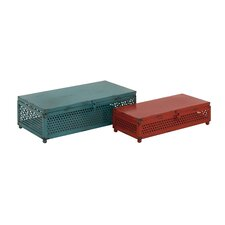 2 Piece Metal Box Set