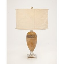 "The Pretty 29"" H Table Lamp with Drum Shade"