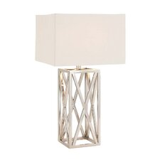 "The Heartthrob 33"" H Table Lamp with Square Shade"