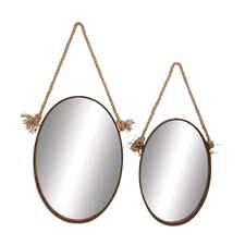 2 Piece Mirror Set