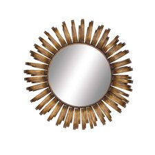 Radiating Metal Wall Mirror