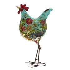 Attractive Metal Rooster Statue