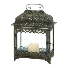 Attractive Metal / Glass Lantern