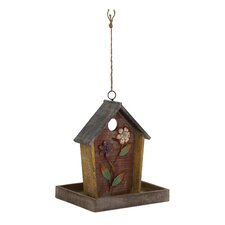 Striking Wood / Metal Hanging Birdhouse