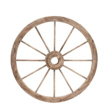 The Simple and Exceptional Wagon Wheel Wall Decor