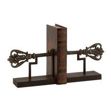 Wonderful Customary Metal Iron Book Ends (Set of 2)