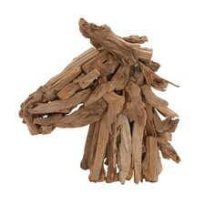 The Amazing Driftwood Horse Head