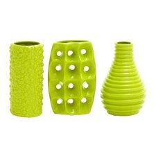 3 Piece Styled Ceramic Vase Set