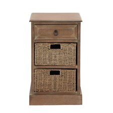 The Rural Wood Basket Accent Chest