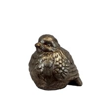 Elegant Ceramic Plump Bird Figurine