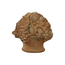 Decorative Stoneware Fruits Decor with Rustic Charm Effect