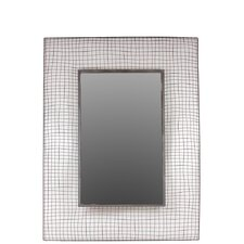 Beautiful Rectangle Shaped Metal Mirror