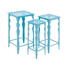 3 Piece The Metal Plant Stand Set