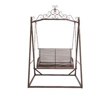 The Cool Metal Garden Porch Swing