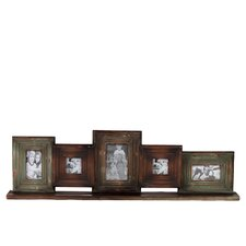 5 Piece Wooden Multi-Photo Frame Set