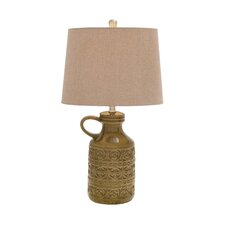 """Wonderful Styled 25"""" H Table Lamp with Empire Shade"""