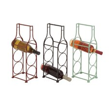 The Simple Metal Wine Holder (Set of 3)