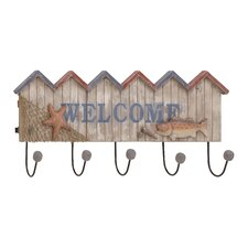 Striking Wood / Metal Welcome Hook