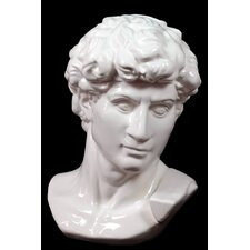 Majestic and Classic Ceramic Man Bust