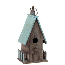 Addorable Roofed Hanging Birdhouse