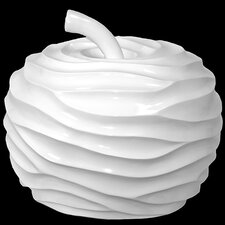 Ceramic Apple Figurine